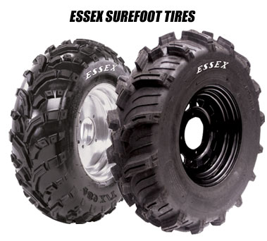 This 6-ply tire has been specially designed and tested for today's heavy